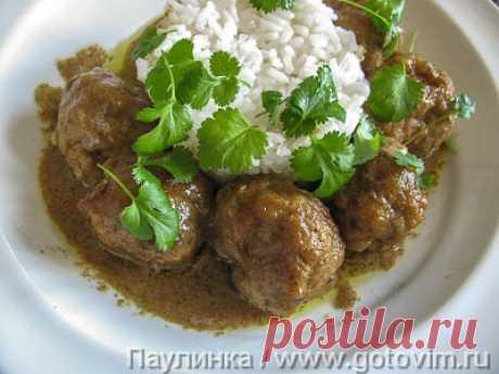 Мясные фрикадельки в соусе по-тайски (Пад Тай). Рецепт с фото / Готовим.РУ