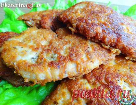 Куриные отбивные в сырном кляре – кулинарный рецепт