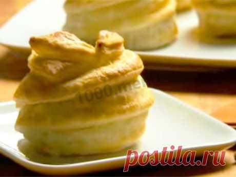 Яблоки запеченные в слоеном тесте в духовке рецепт с фото пошагово и видео - 1000.menu