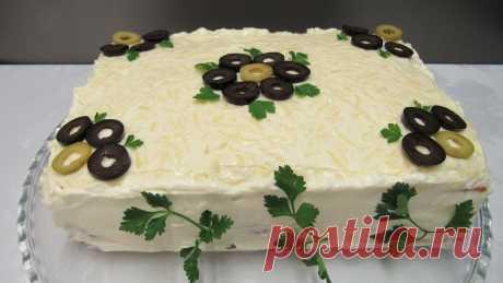 Закусочный торт «Сытый Гость» - Четыре вкуса - медиаплатформа МирТесен