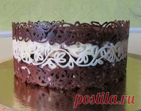 Шоколадный торт на праздник