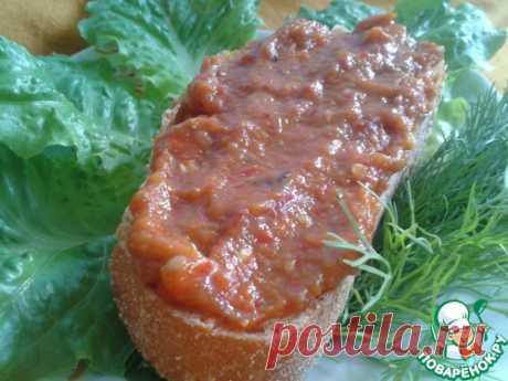 Лютеница – кулинарный рецепт