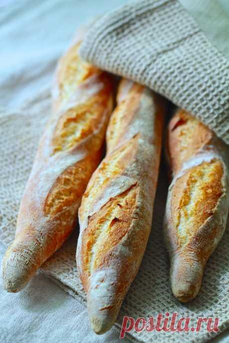 """Хлебушки, хлебы - сегодня французский багет :) - """"Еда - это любовь"""""""