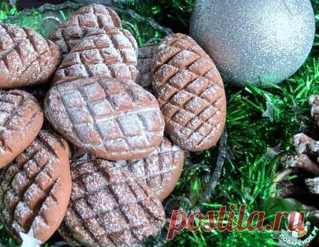 """Печенье """"Шоколадные шишки"""" – кулинарный рецепт"""