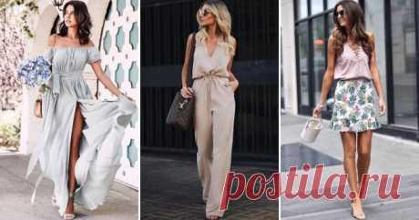 Мода лето 2019 – платья, юбки, сарафаны, шорты, купальники