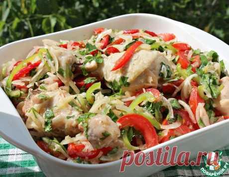 Холодная курица по дунгански – кулинарный рецепт