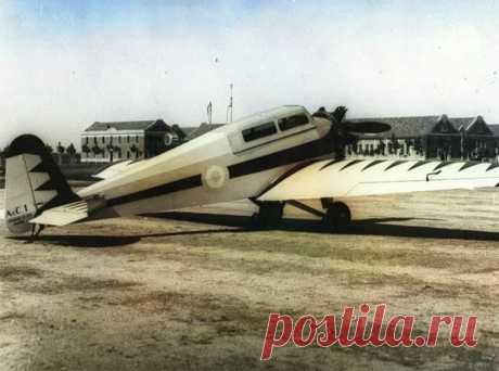 AE. C.1 — первый национальный легкий самолет Аргентины AE. C.1 Triplaza стал для Аргентины действительно первым национальным самолетом, который разрабатывался группой инженеров на заводе FMA