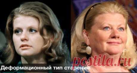 Замедляем старение кожи по морфотипу  https://krasotaotzdoroviya.ru/morfotip/  Морфотип и старение. Вы, наверняка, замечали, что одинаково миловидные в молодости женщины старятся по-разному: у одной лицо покрывается мелкими морщинками, но сохраняет при этом четкий контур, а у другой, будто тесто, оплывает вниз, но остается гладким.  Старение кожи лица является результатом изменений эпидермиса, дермы и объёмных изменений контуров.   Оказывается, еще до появления первых призн...