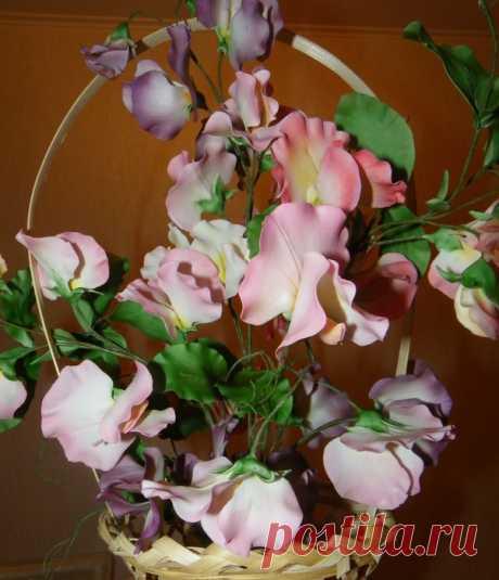 Какое очарование - цветы из сахарной мастики