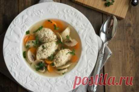 Куриный суп с кнелями  Приготовление:>>> drujnaja.sem-ja.ru/kulinariya/kurinyj-sup-s-knelyami   Насколько прост этот суп в приготовлении, настолько же он потрясающе вкусный в итоге. Не требуется никаких сложных действий, но вкус невероятный.