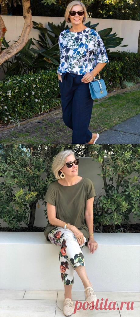 Смело и современно - стильное лето женщины 60+. Есть к чему стремиться | Мне 50 | Яндекс Дзен