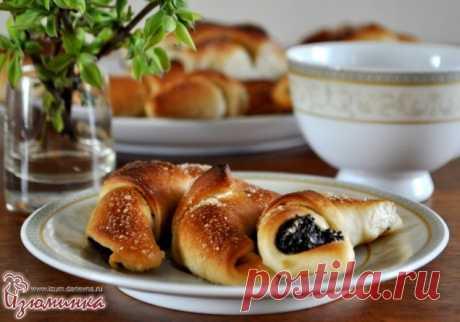 Постные рогалики или восхитительный завтрак на быструю руку