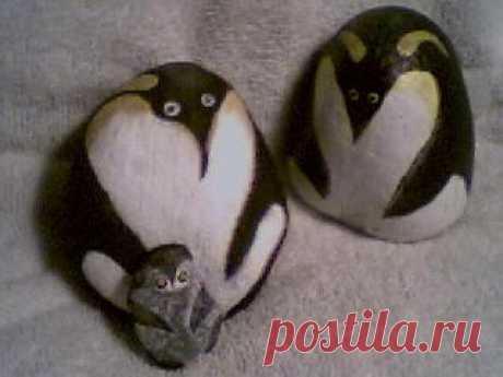 rockpaintingii: View Photo:pretty penguin