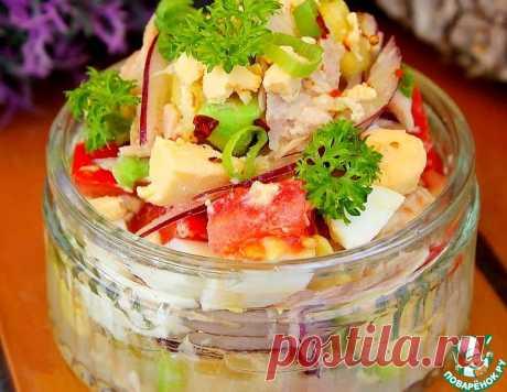 Салат из авокадо и тунца – кулинарный рецепт