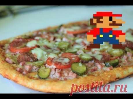 La receta simple de la pizza