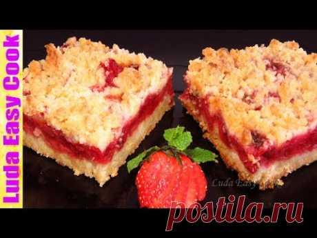 El Pastel muy simple Amontonado con la Fresa a la Vez, Dos, Tres | How to Make Easy Strawberry Cake