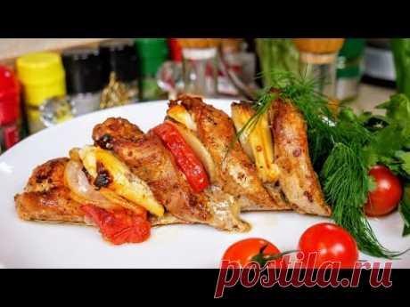 Сочное мясо в ДЫМУ, вкуснее чем ШАШЛЫК, цыганка готовит.