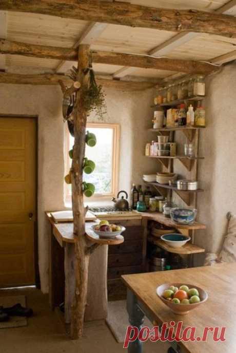 Кто сказал, что маленькая кухня не может быть креативной?