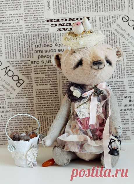 МиМиМишки (Мишки Тедди и их друзья) Медведица Мисс Птичка выкройка Светланы Чернюк