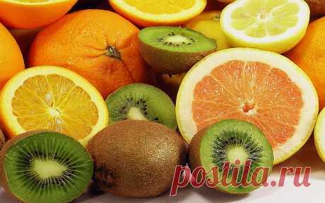 Апельсин против киви