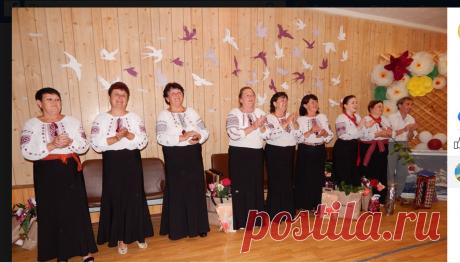 Наш народный женский вокальный ансамбль...юбилей 40 лет вместе...июнь 2019г...Базарьянка...Одесская обл...Татарбунарский р-он