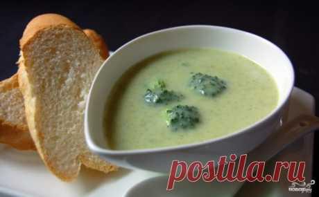 Суп-пюре из брокколи - пошаговый рецепт с фото на Повар.ру