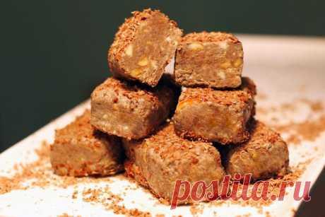 Как приготовить шоколадные конфеты с орешками - рецепт, ингредиенты и фотографии