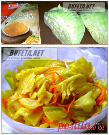 Быстрая капуста по-корейски рецепт в домашних условиях.