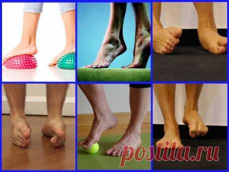 Как укрепить голеностопный сустав при помощи упражнений