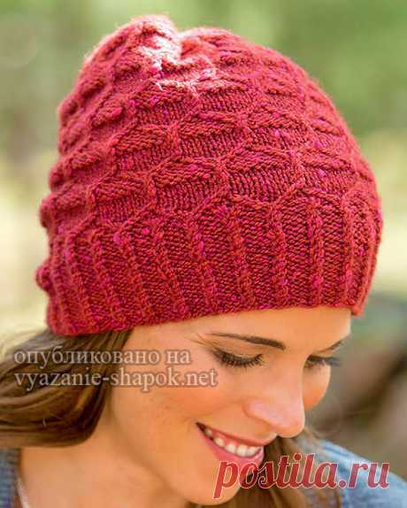 Вязаная шапка спицами Rockwell от Эми Кристофферс Доброе утро, дорогие любительницы вязания шапок! Сегодня в моей копилочке пополнение от дизайнера Эми Кристофферс. Эта женская шапочка вяжется спицами, авторское название у нее Rockwell. Моделька с…