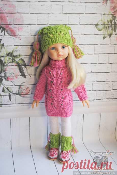 Комплект Морозное утро для кукол 32-34 см / Одежда и обувь для кукол своими руками / Бэйбики. Куклы фото. Одежда для кукол