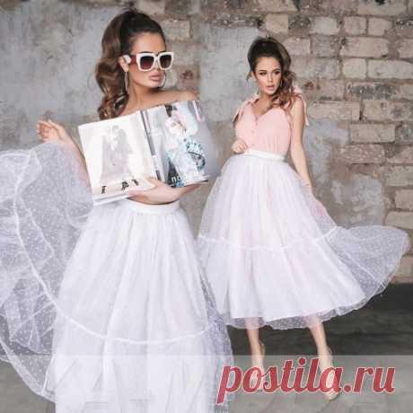 Пышная юбка : новая коллекция модных юбок. Доставка по России. Скидки.