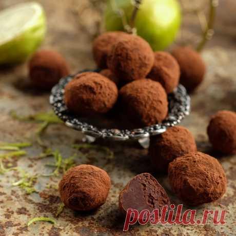Насыщенные шоколадные трюфели с Baileys — Изящество кулинарии