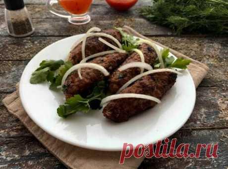 Люля-кебаб на сковороде без шпажек