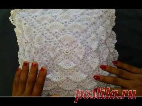 Crochet Cushion cover Very easy