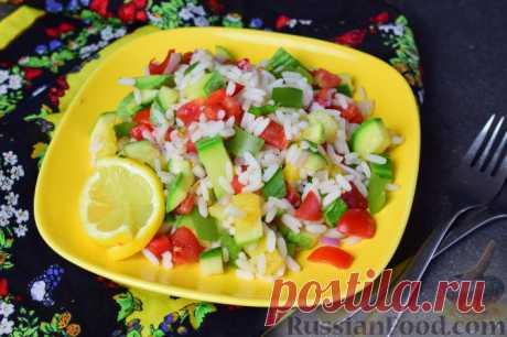 Рис с овощами - несложно, нарядно, разнообразно и полезно!