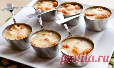 Изумительно вкусный жульен с креветками: пошаговый рецепт приготовления