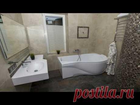 Интересный завершённый проект. Ванная комната, душевая и котельная. Отзыв заказчика.
