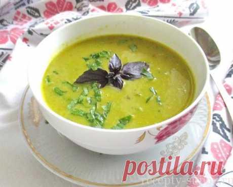 La sopa de los calabacines: las recetas rápidamente y es sabroso de la foto poshagovo