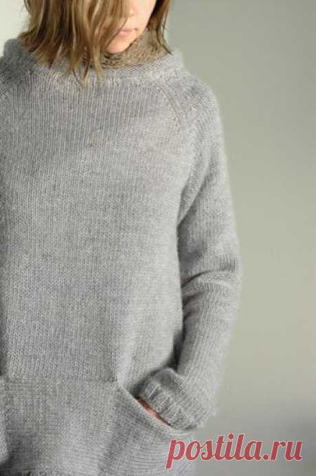 kaari sweater | made with Lamb's Pride Worsted in Misty Blue… | Flickr
