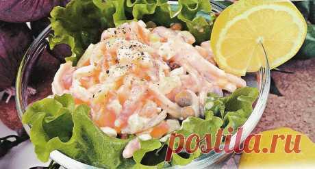 👌 Праздничный салат, ссылки праздничные салаты с фото, рецепты    Кальмар свежий 300 гр. Картофель 2 шт. Морковь 1 шт. Яйцо 2 шт. Огурец солёный 2 шт. Лук репчатый 1 шт. Зеленый горошек 200 гр. Майонез 150 гр...