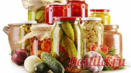 Универсальный маринад для любых овощей. Один рецепт для всех закруток! — Мир интересного