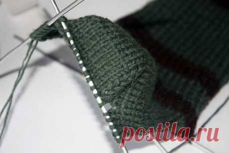 Делимся несколькими вариантами, как связать пятку носка + таблица размеров. |  Вязание и не только. | Яндекс Дзен