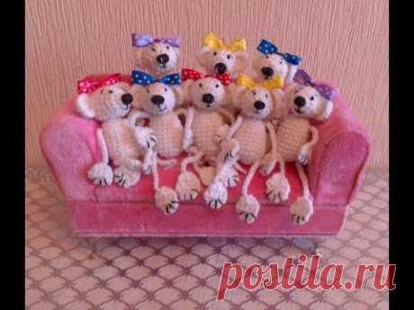 Игрушка мышка,вязание крючком амигуруми,как связать крючком игрушки амигуруми. - YouTube