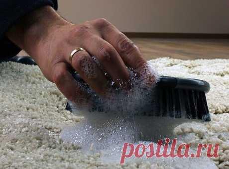 Как почистить ковер Как почистить ковер с помощью уксуса и пищевой соды — результат потрясающий...