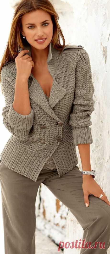 Hand Knit women's cardigan women's jacket women от BANDofTAILORS