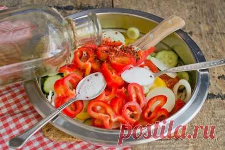 Салат на зиму «Витаминный»