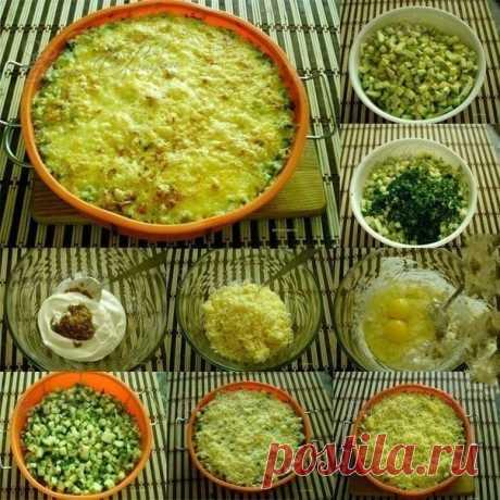Как приготовить кабачки, запеченные с сыром - рецепт, ингридиенты и фотографии