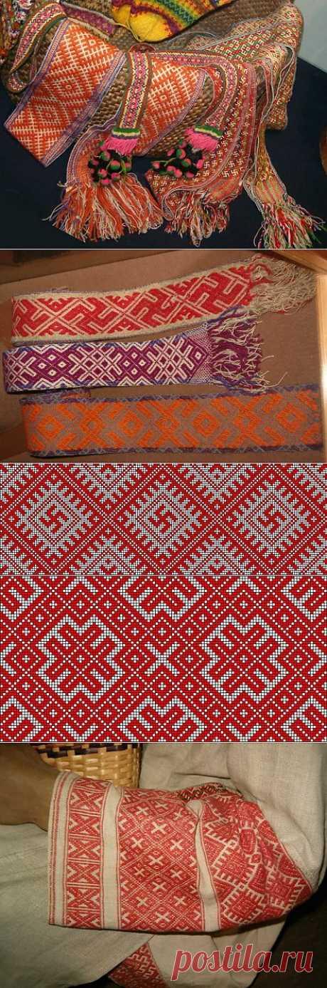 Традиционная символика в славянской вышивке и обереги.
