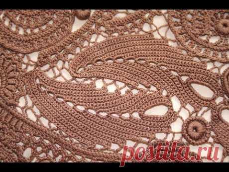 Перо павлина. Элемент для коричневого платья.